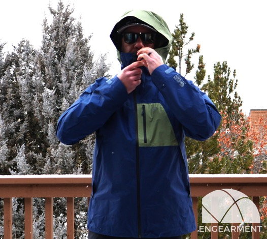 Mountain Hardwear Exposure 2 Goretex Paclite Plus Jacket hood