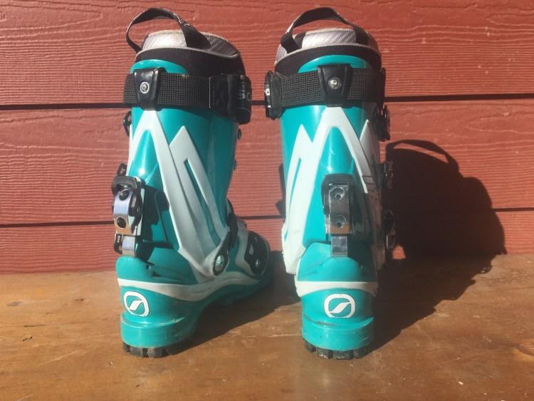 Scarpa Womens TX Pro Telemark NTN Boots rear