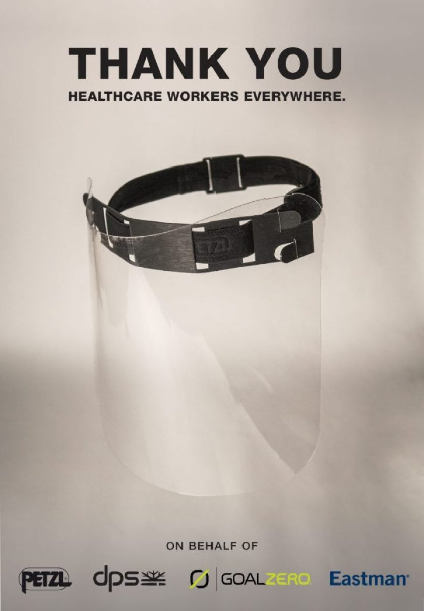 DPS Skis, Goal Zero, Petzl and Eastman Partner to Produce Face Shields for Healthcare Workers in Utah 3