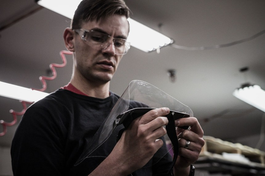 DPS Skis, Goal Zero, Petzl and Eastman Partner to Produce Face Shields for Healthcare Workers in Utah 2