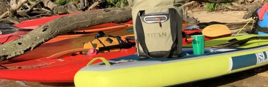 Titan Rolltop Tote 12 Can Cooler
