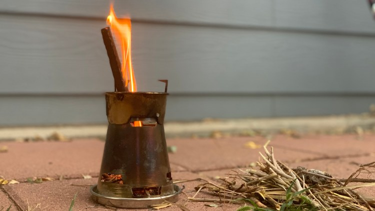 Patagonia wood burning stove