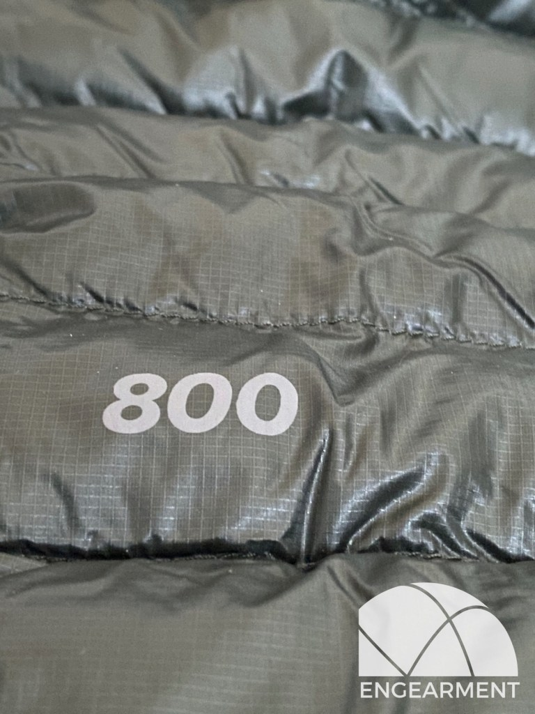 Mountain Hardwear Ghost Whisperer 2 800 fill RDS Engearment