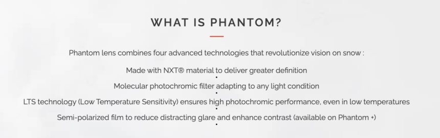 Bolle Nevada Neo Phantom+ Goggles