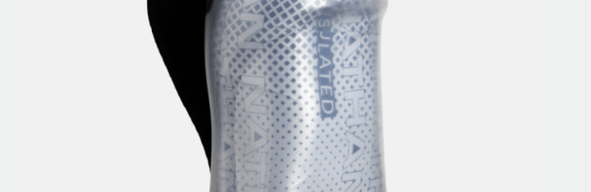 Nathan Sports Quick Squeeze 12oz Insulated Bottle