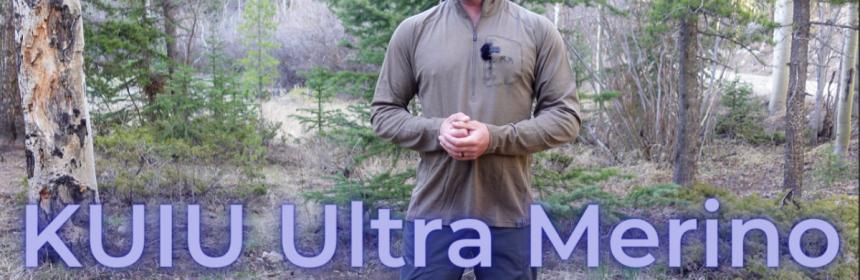 KUIU Ultra Merino Engearment