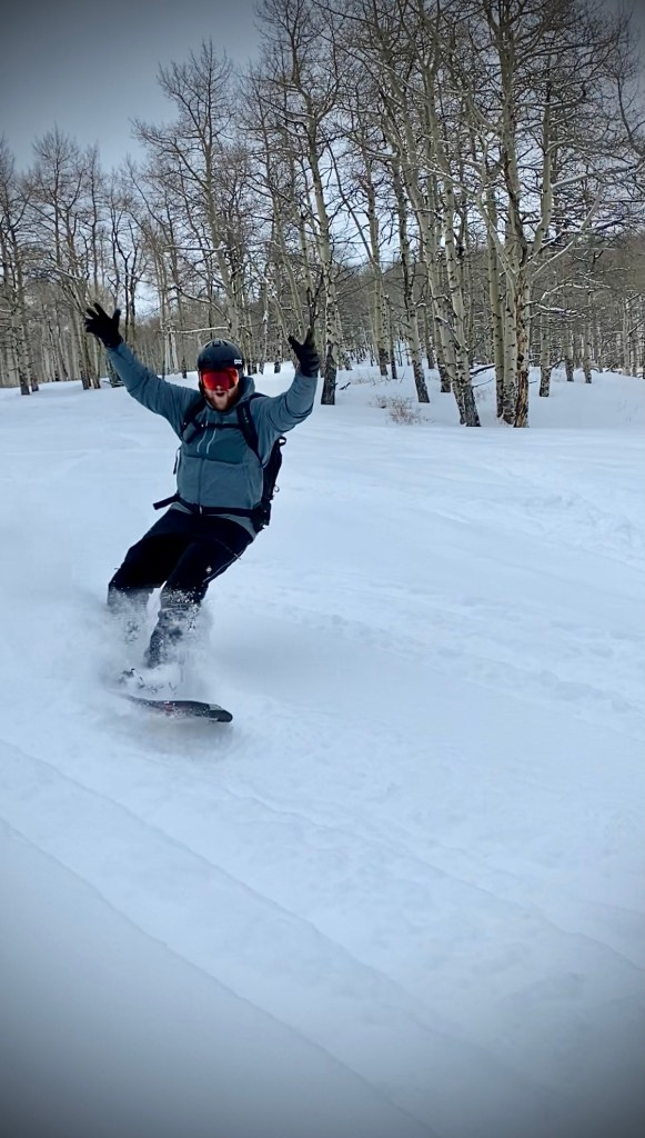 Put on and leave on -- perfect for low angle pow laps!