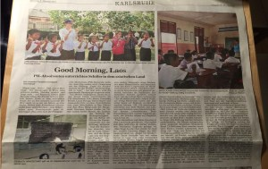 2016-02-02 BNN Bericht Good Morning Laos