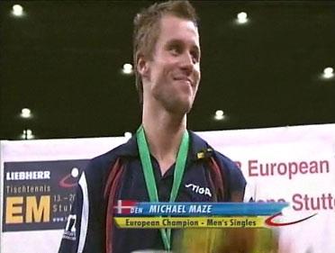 En glad og stolt europamester på sit hidtidige karrieremæssige toppunkt!