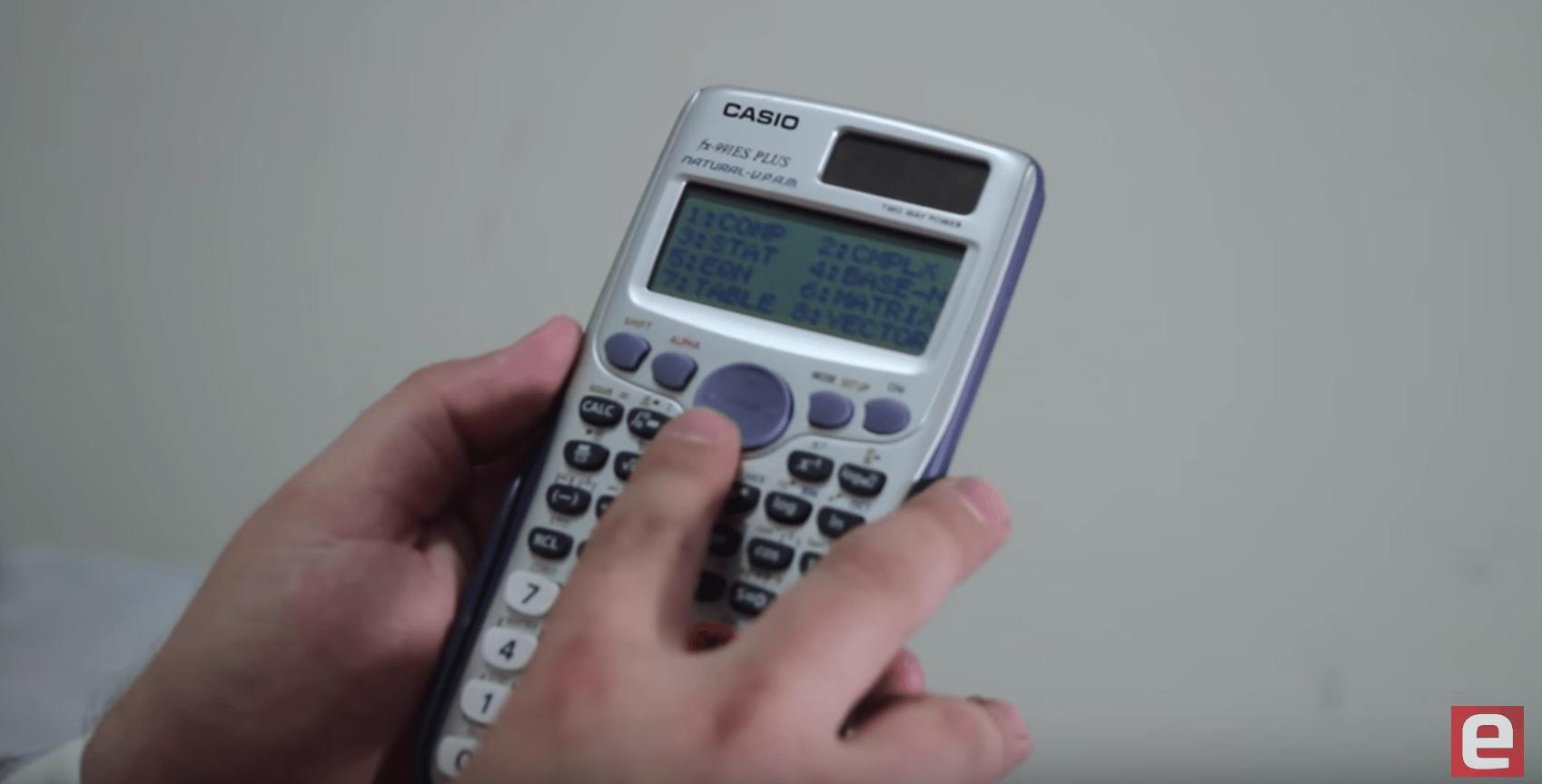 Review CASIO fx-991ES PLUS Blog da Engenharia 02
