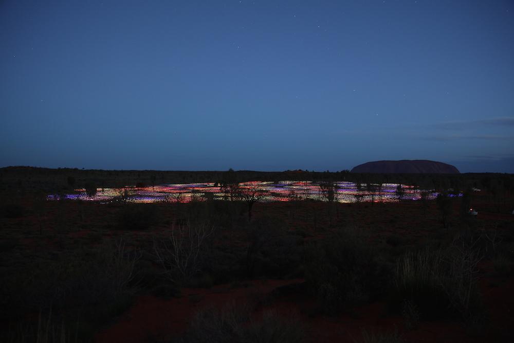 luzes no deserto bde