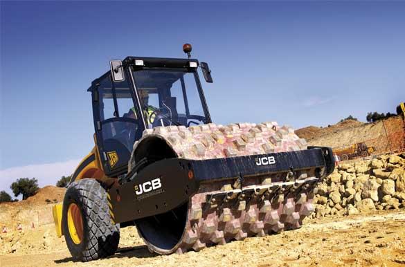 máquinas utilizadas na construção civil rolo compactador blog da engenharia