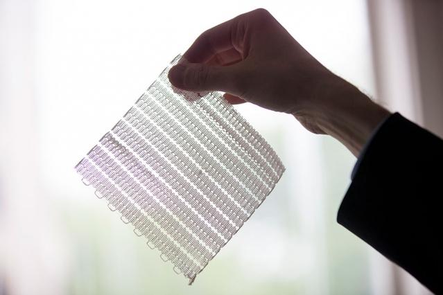 materiais flexíveis em 3D