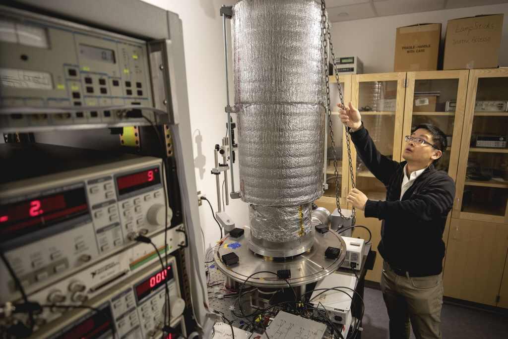 refrigerador quântico