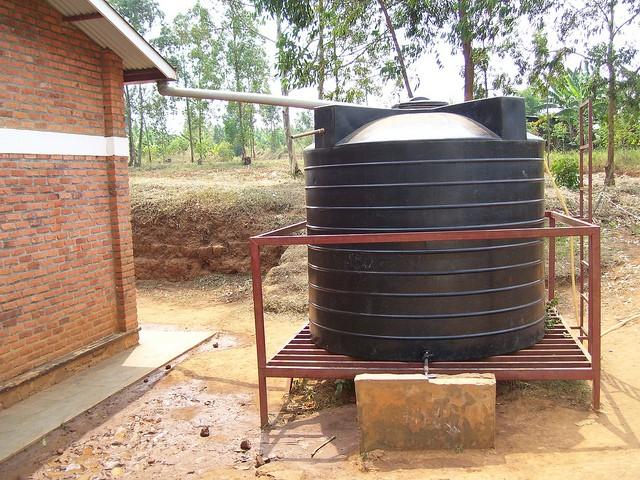 aproveitamento de água