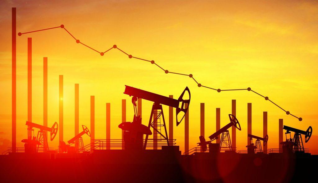 gráfico ilustrativo de preço petróleo