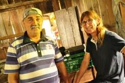 Ademir e Alice, vizinhos e parceiros de farinhadas