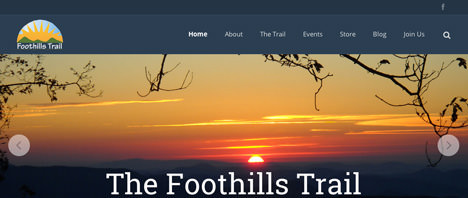 Foothills Trail Conference | Nonprofits Web Design Greenville SC