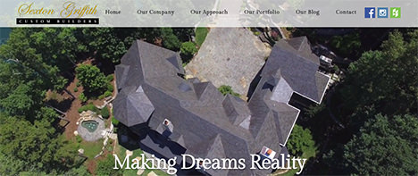 Sexton Griffith | Construction & Residential Web Design Greenville SC