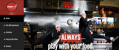 Chef 360 | Food & Restaurants Web Design Greenville SC
