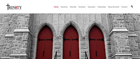 Trinity Lutheran Church | Religious Web Design Greenville SC