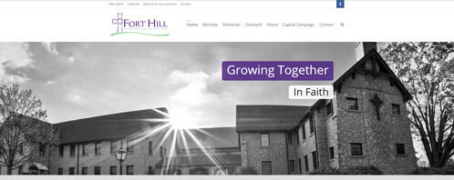 Fort Hill Presbyterian Church | Religious Web Design Greenville SC