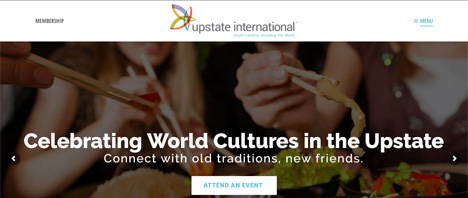 Upstate International | Nonprofits Web Design Greenville SC