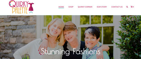 Quirky Palette | Retail Web Design Greenville SC