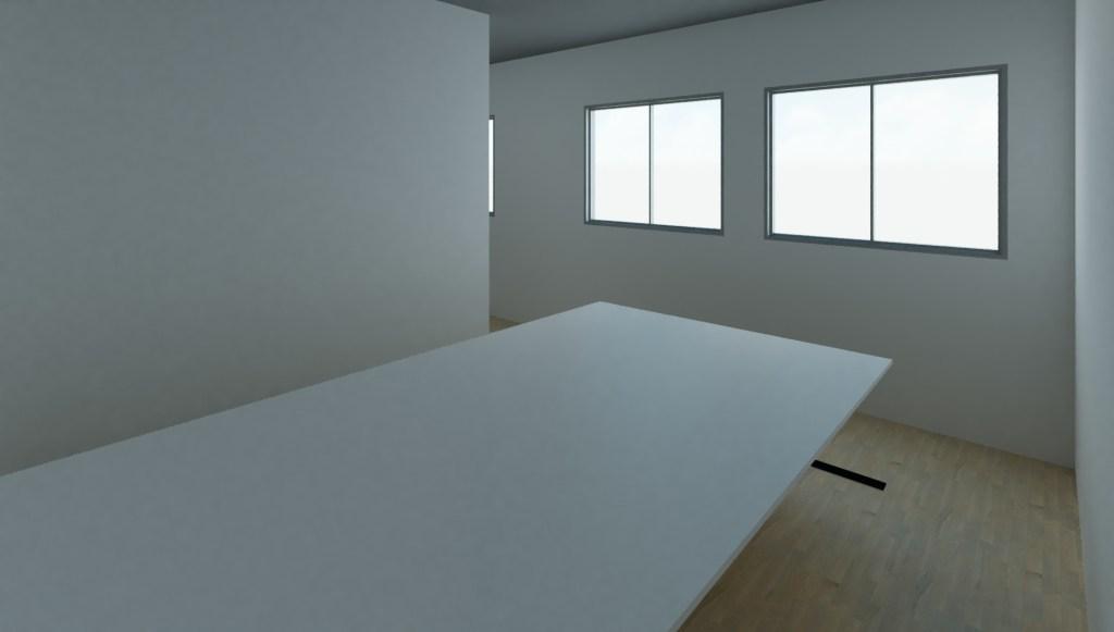 Sala de corte - Projeto de edificações - Reforma