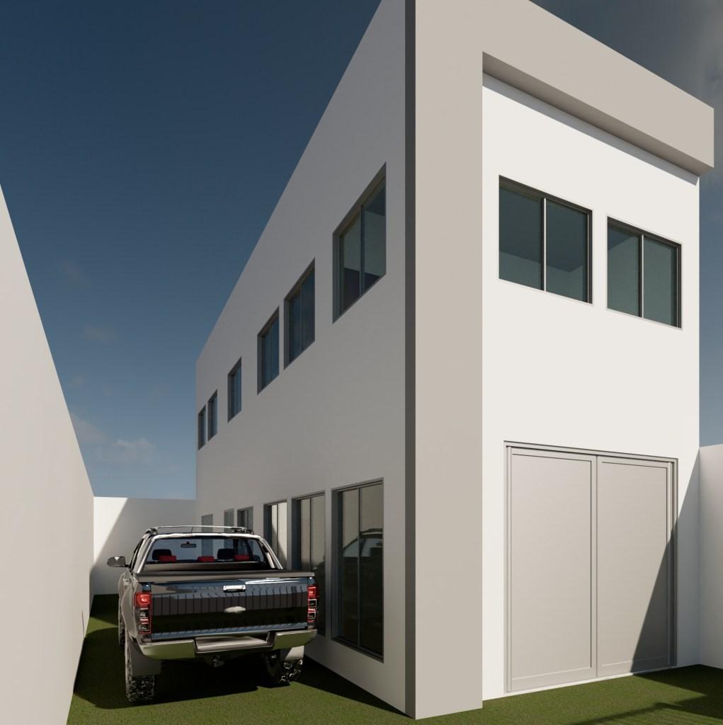 Fachada Principal 02 - Projeto de edificações - Reforma