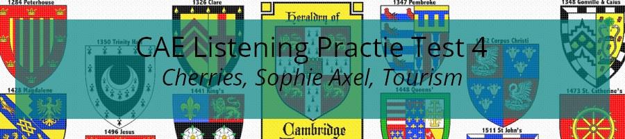 CAE Listening Practice Test 4