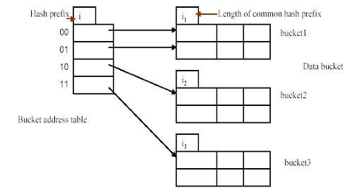 (ii) Explain various hashing techniques?