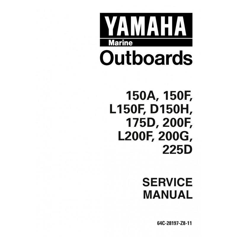 Manuel YAMAHA 150hp 200hp