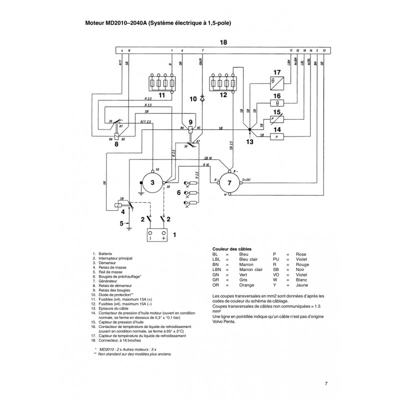 Volvo Penta Diesel Alternator Wiring Diagram