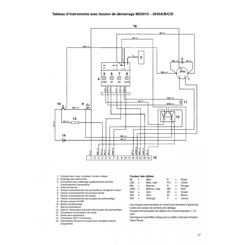 Volvo Md2030 Wiring Diagram Wiring Diagram