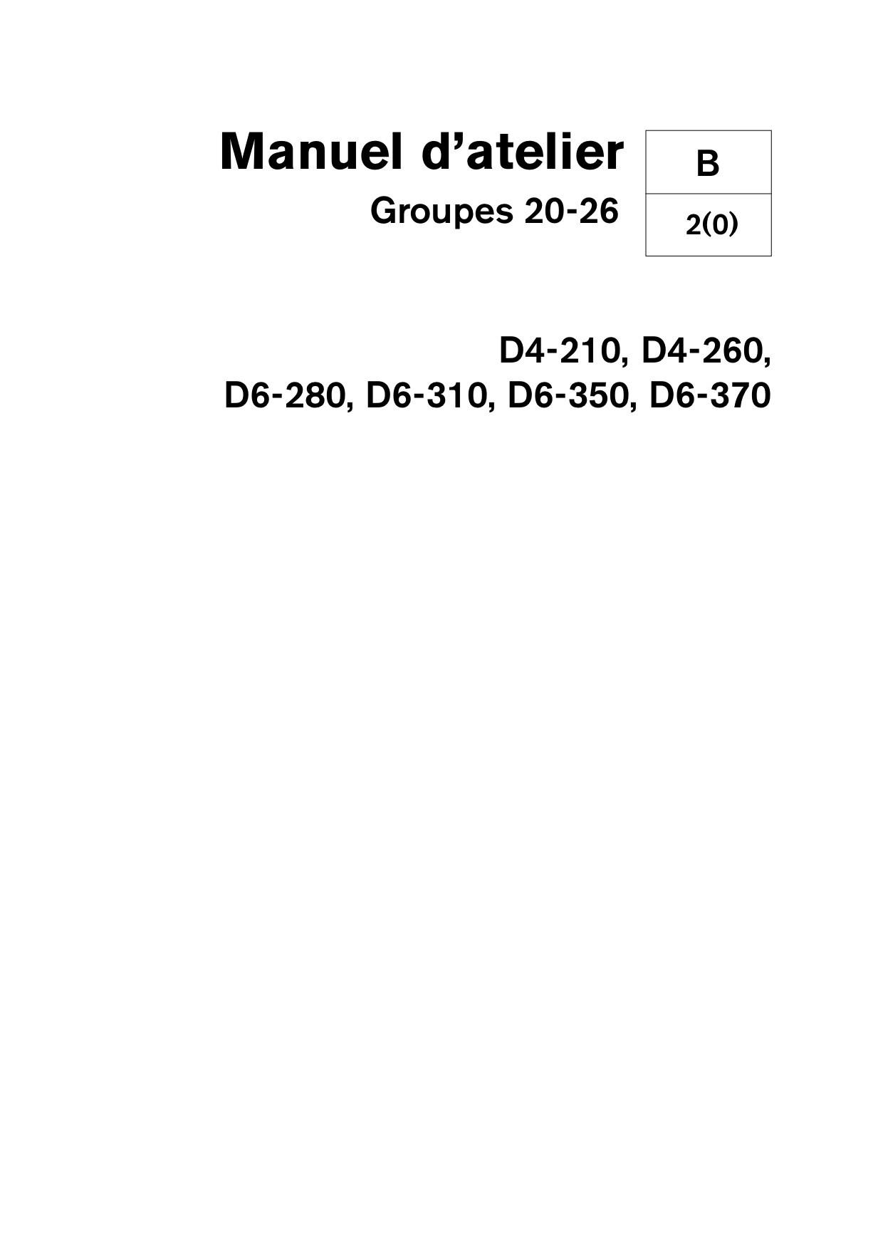 hight resolution of volvo penta diesel d4 210 d4 260 d6 280 d6 310 d6 350 d6 370 groupe 20 26 02 2006