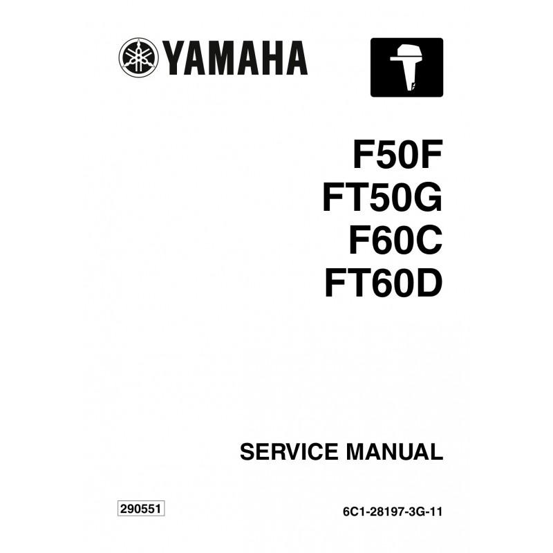 Manuel YAMAHA F50 F60