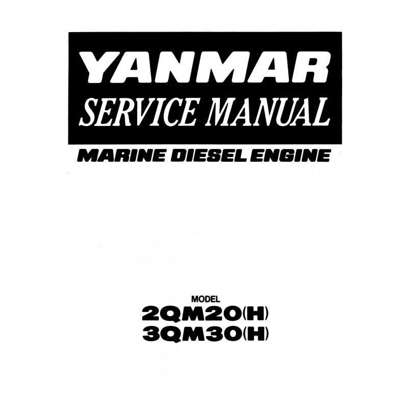 Manuel YANMAR 2QM20 et 3QM30