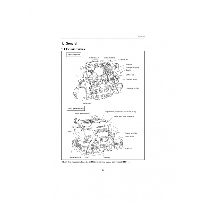 Yanmar Engine Parts Yanmar Engine Parts Products Yanmar