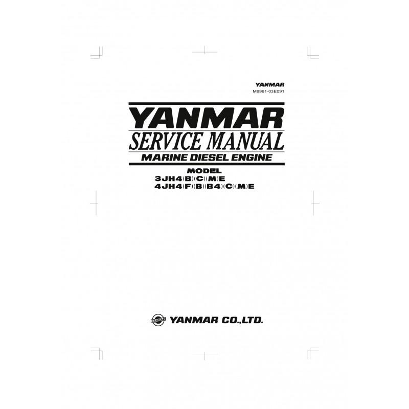 Manuel YANMAR 3JH4 et 4JH4