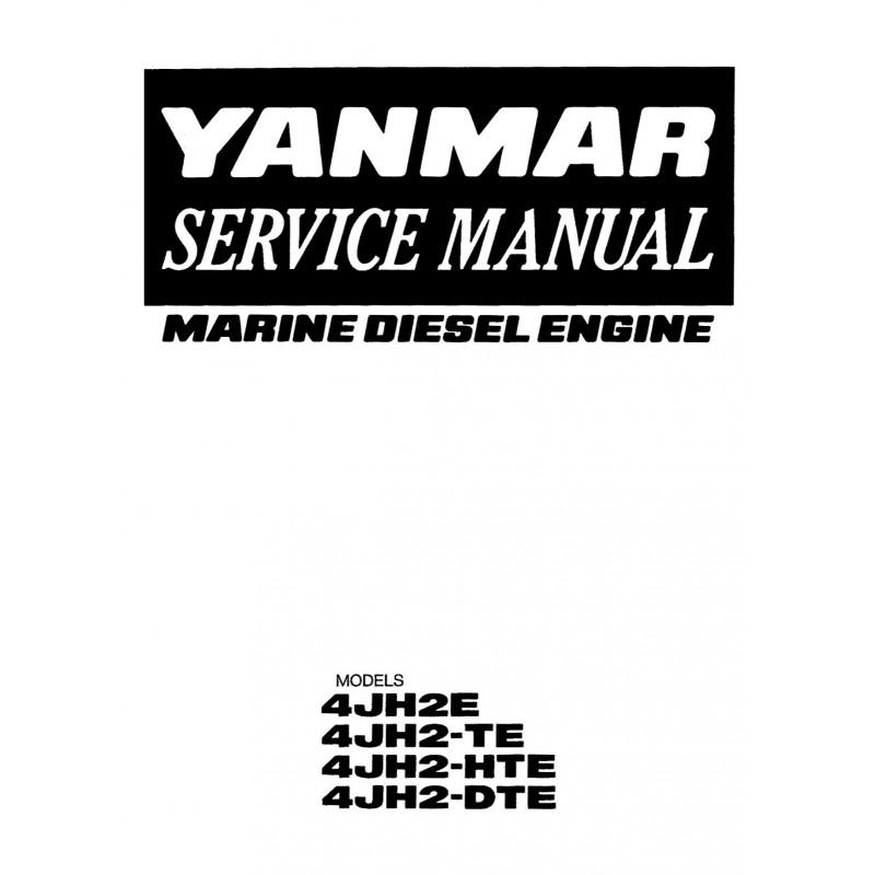 Manuel YANMAR 4JH2 E TE HTE DTE