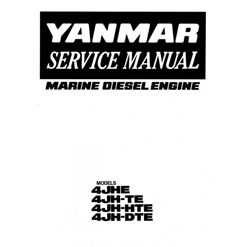 Manuel YANMAR 4JHE TE HTE DTE