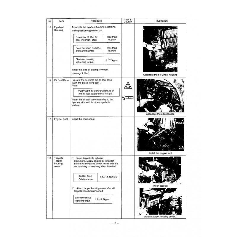 Manuel YANMAR 6CX-GTYE