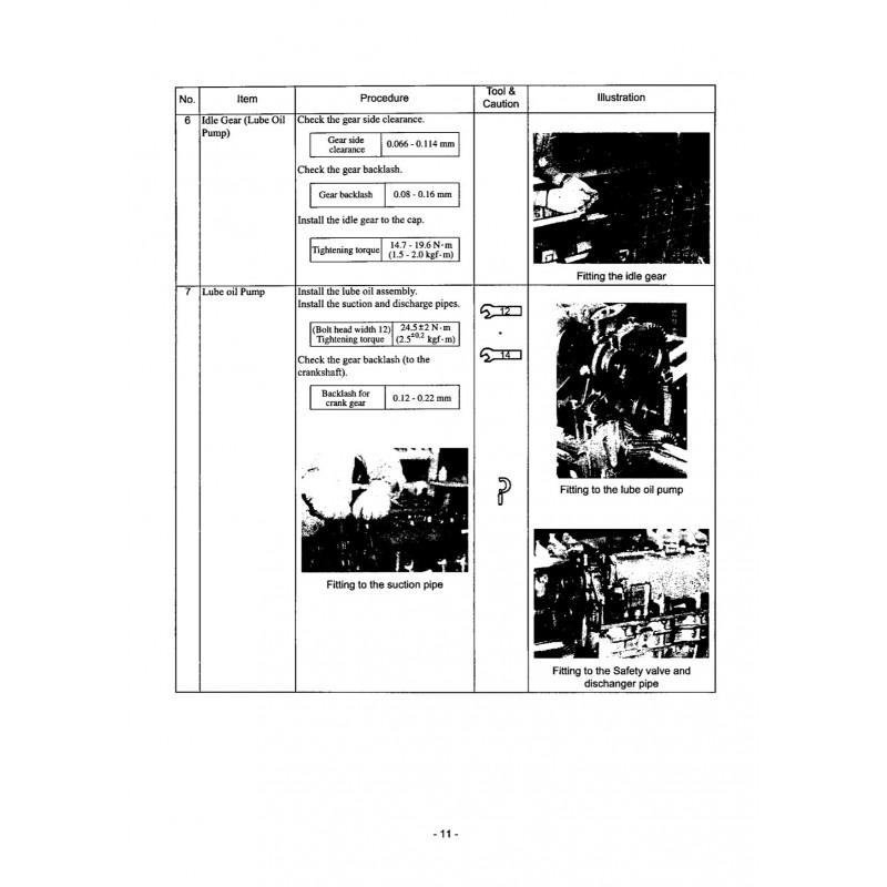 Manuel YANMAR 6CXM-GTE