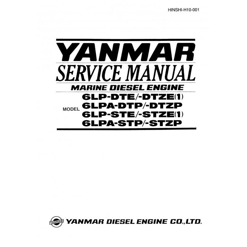 Manuel YANMAR 6LP DTE STE