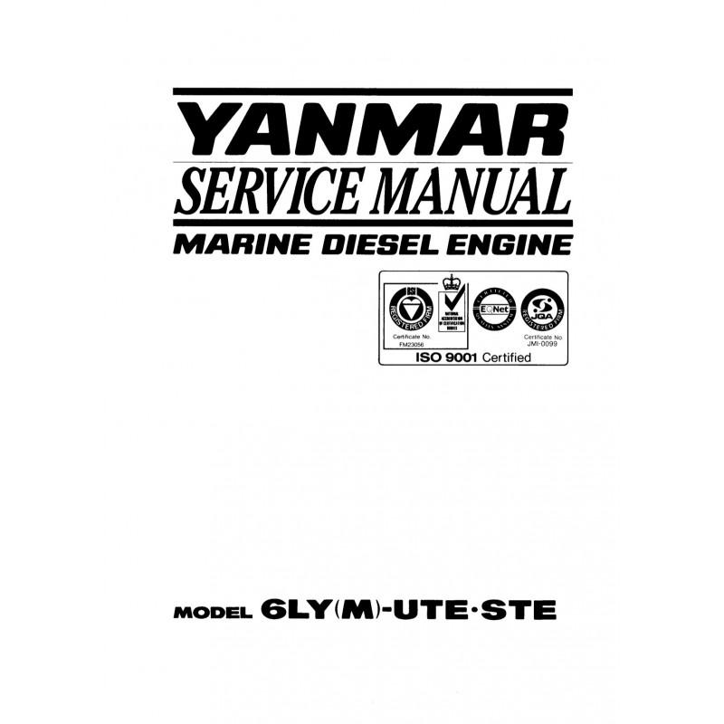 Manuel YANMAR 6LY UTE STE