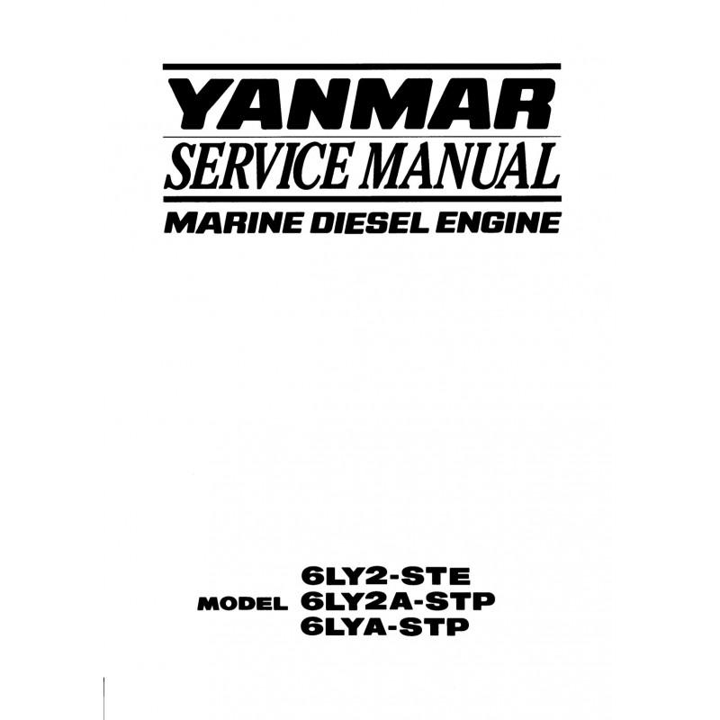 Manuel YANMAR 6LY2 STE 6LY2A STP 6LYA STP
