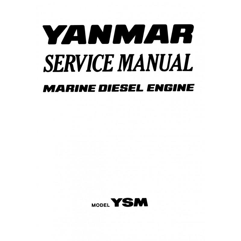 Manuel YANMAR YSM 8 et YSM12