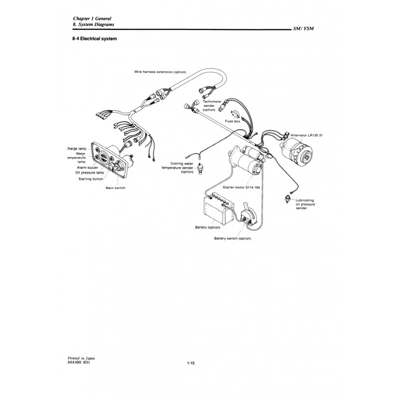 Mercruiser Sterndrive Parts Diagram. Engine. Wiring