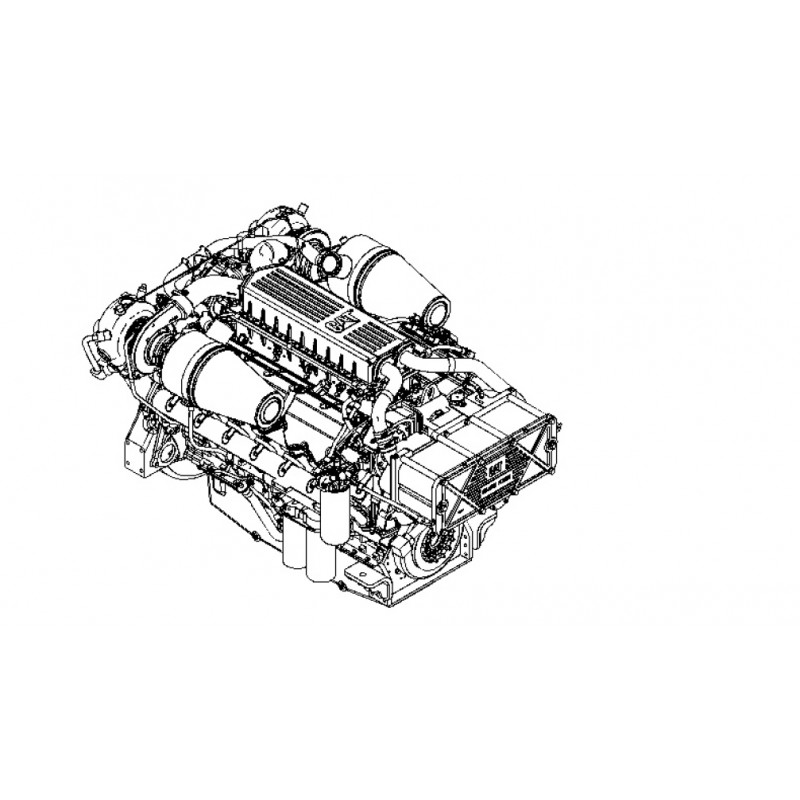 Caterpillar C32 RNY Marine Diesel Engine